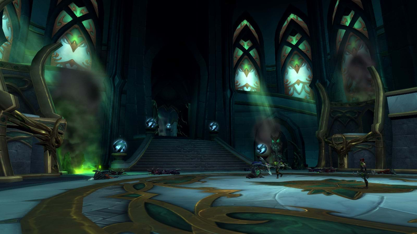 Mythic+ dungeons in Legion