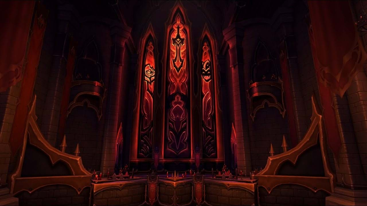 WoW Shadowlands Raid Castle Nathria