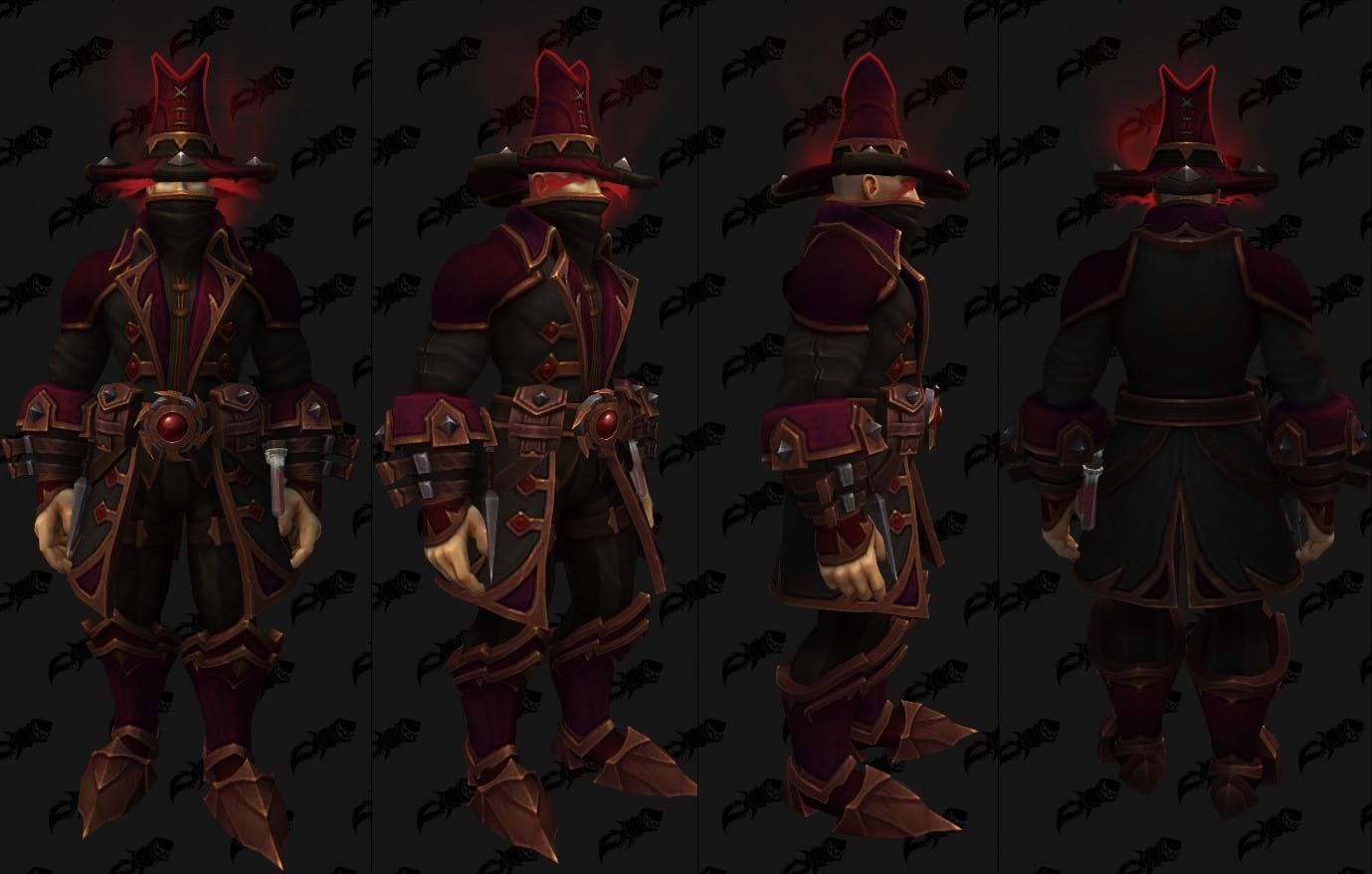 WoW Shadowlands Leather Set