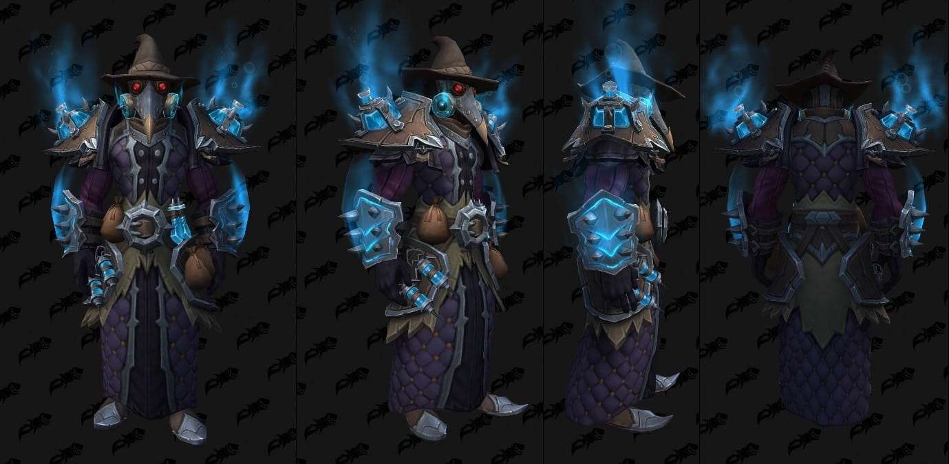 WoW Shadowlands Raid Cloth Set